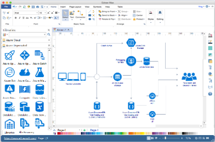 azure diagram software for mac