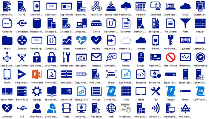 Azure Enterprise Icons
