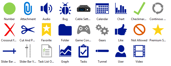 Full Set Of Microsoft Azure Icons