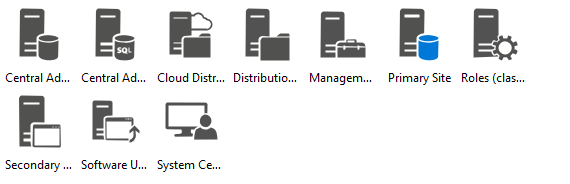 Azure System Center Icons