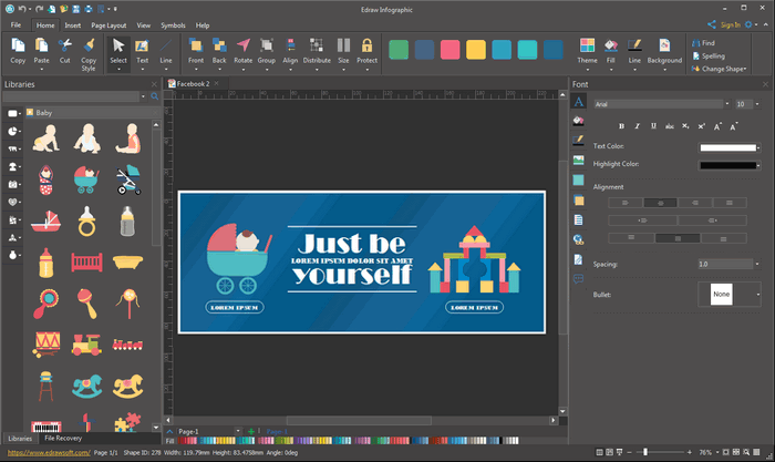 Facebook Banner Design Tool