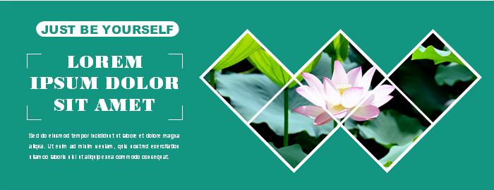 Flower Facebook Banner Template