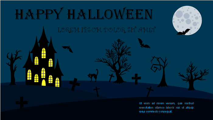 Halloween Google Plus Banner Template Two