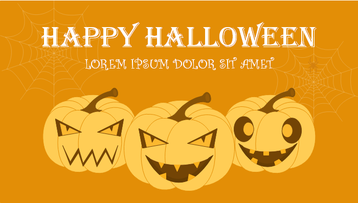 Halloween Google Plus Banner Template One