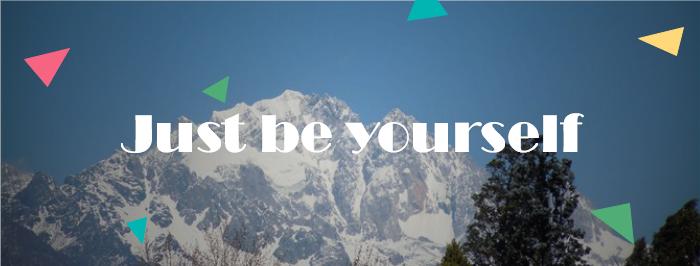 Landscape Motivational Facebook Banner Template
