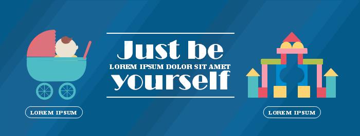 Online Shopping Facebook Banner Template