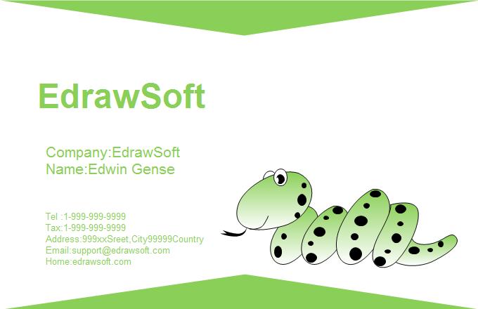 Free business card templates animal style animal business card 4 colourmoves