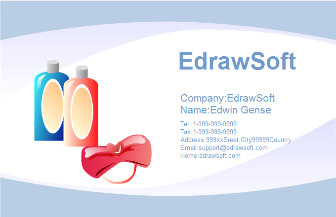 Beautiful Business Card 4