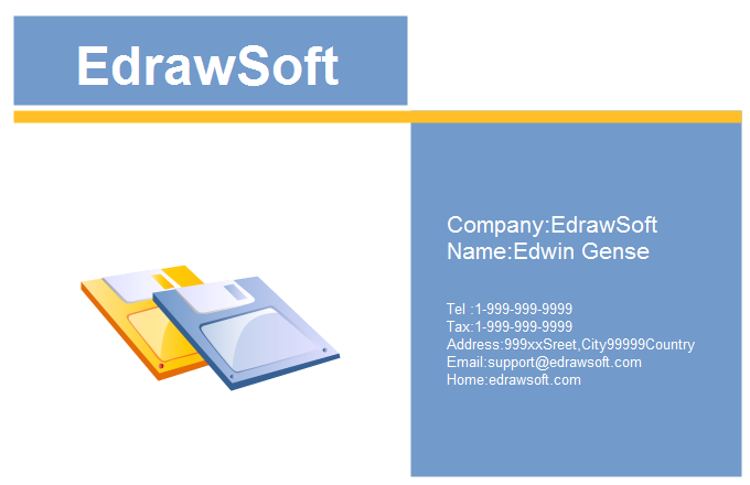Computer Business Card 7