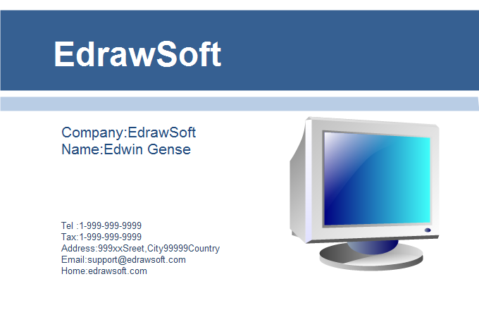 Computer Business Card 8