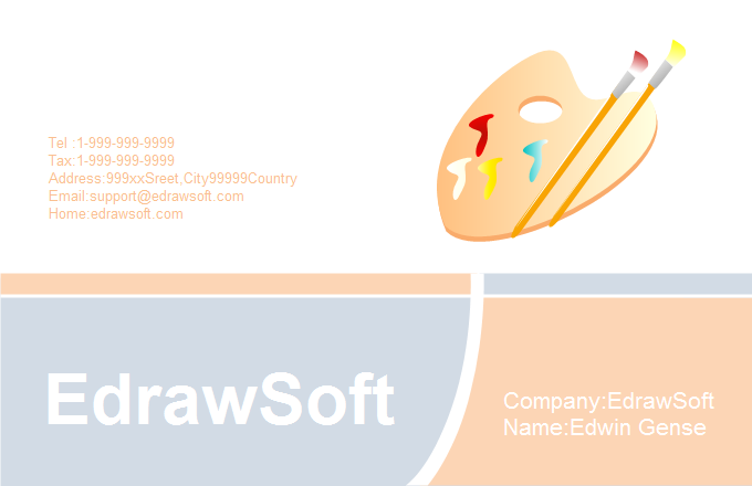 Education Business Card 2