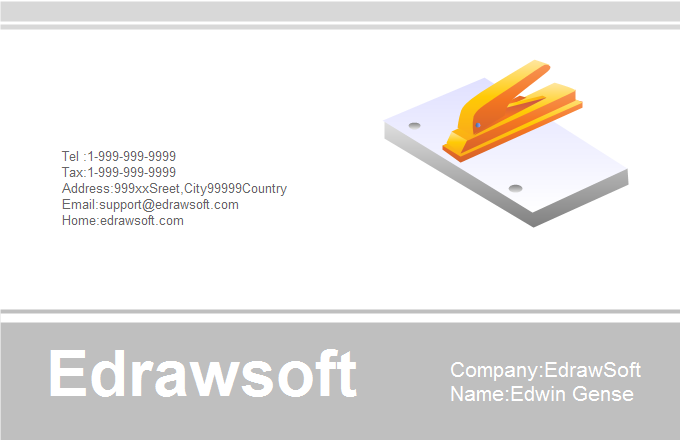 Education Business Card 3