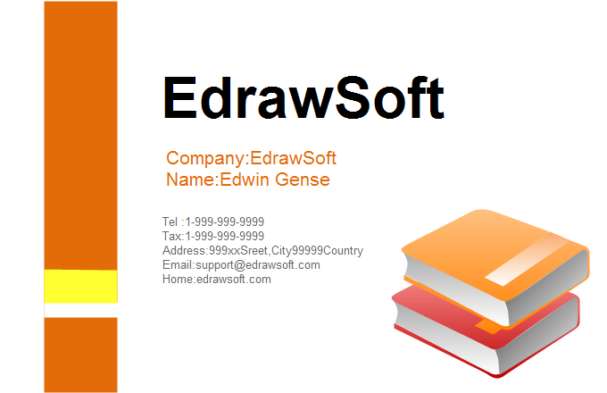 Education Business Card 4