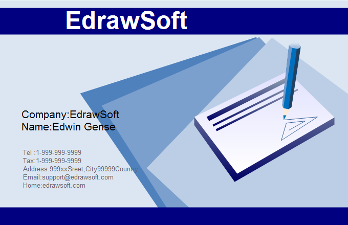 Education Business Card 5