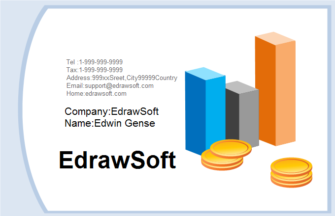 Finance Business Card 2