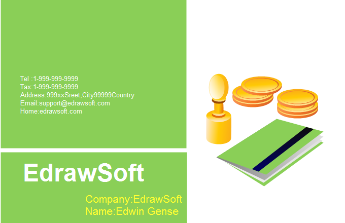Finance Business Card 4