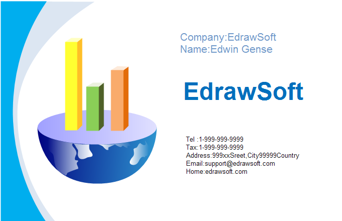Finance Business Card 6