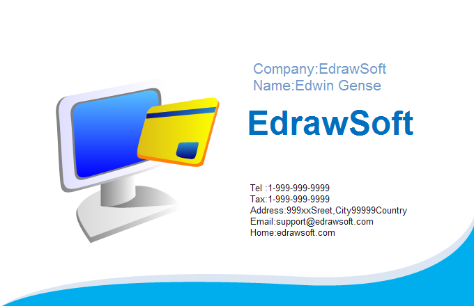 Finance Business Card 7
