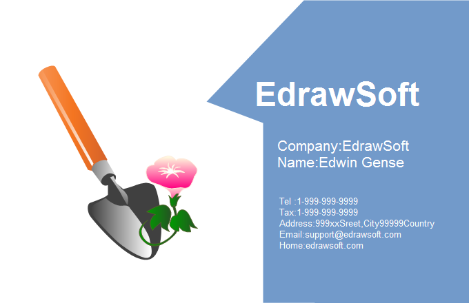 Flower Business Card 8
