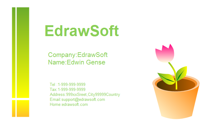 Flower Business Card 9