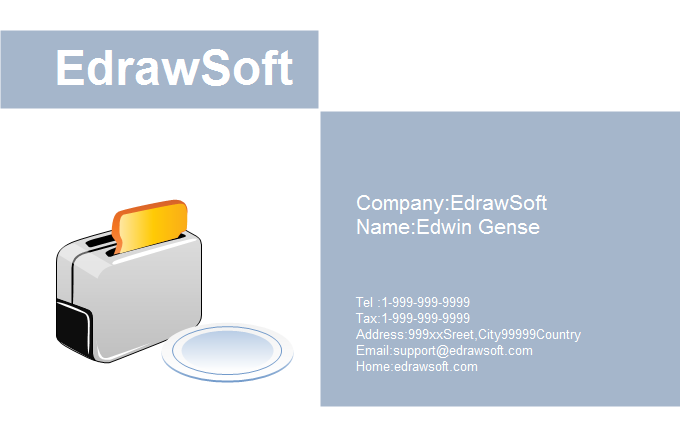 Food Business Card 6