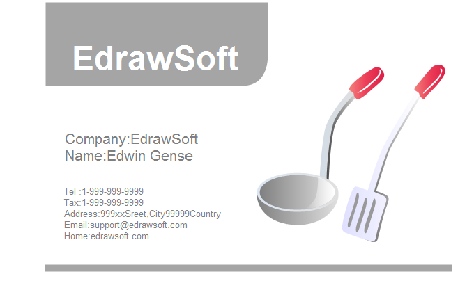 Food Business Card 8
