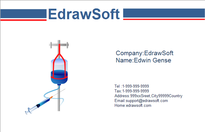Medical Business Card 10