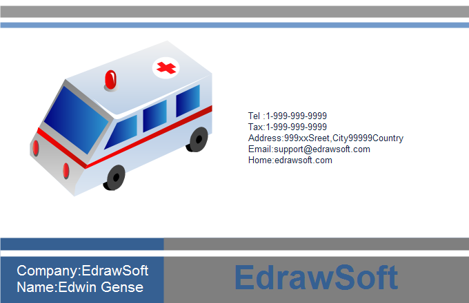 Medical Business Card 11