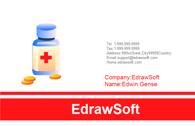 Medical Business Card Templates – Medical Business Card Templates