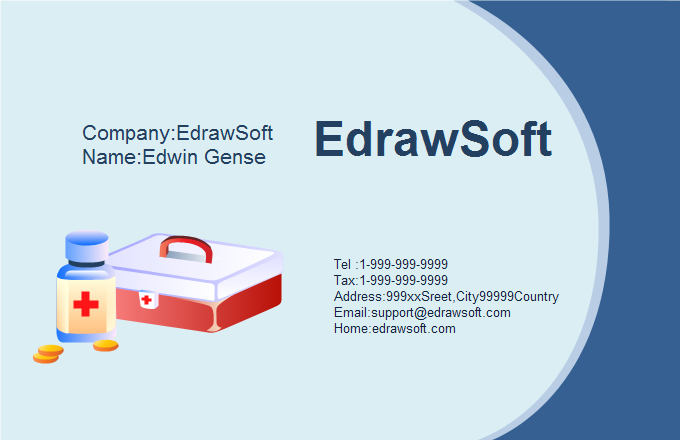 Medical Business Card 9