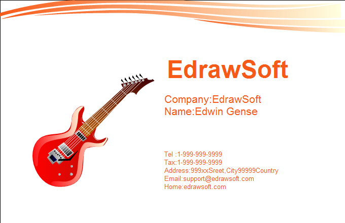 Music Business Card 10