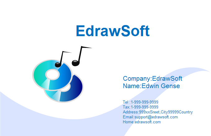 Music Business Card 3