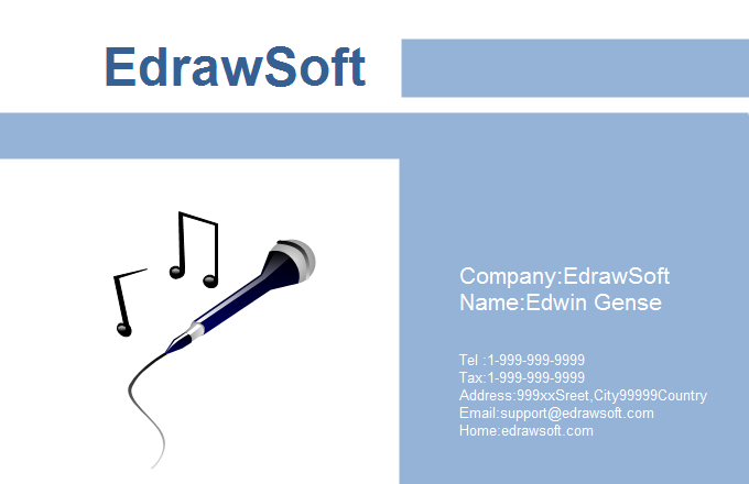 Music Business Card 4