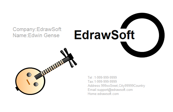 Music Business Card 7