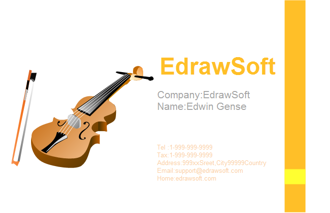 Music Business Card 8