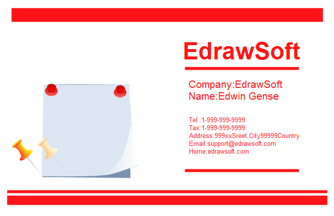 Office Business Card 1