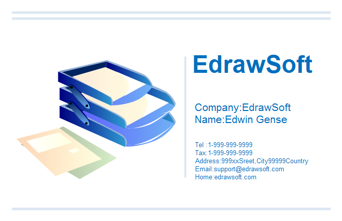 Office Business Card 10