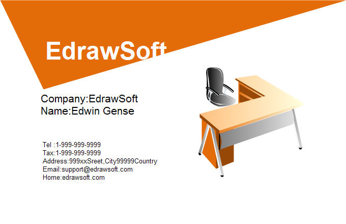 Office Business Card 3