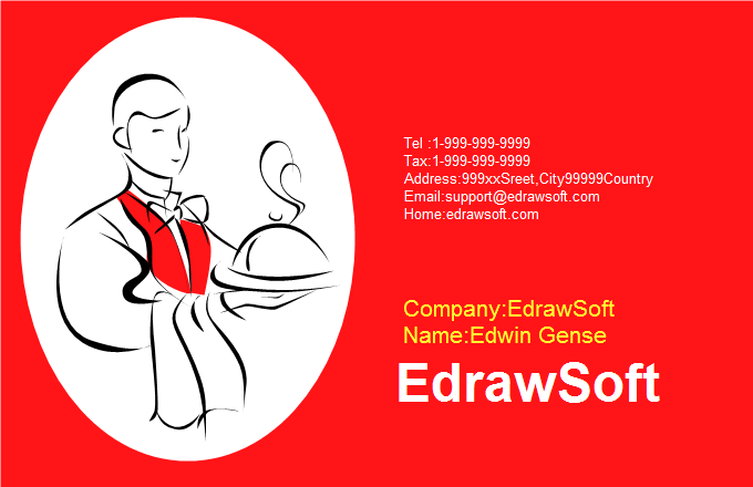Service Business Card 1