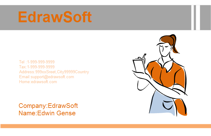 Service Business Card 10
