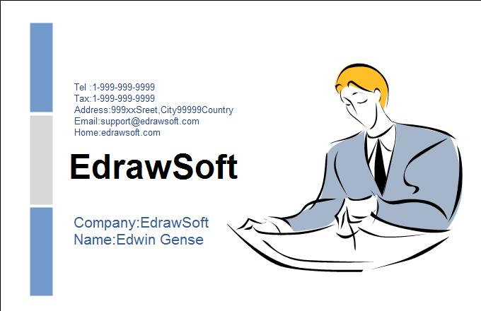Service Business Card 2