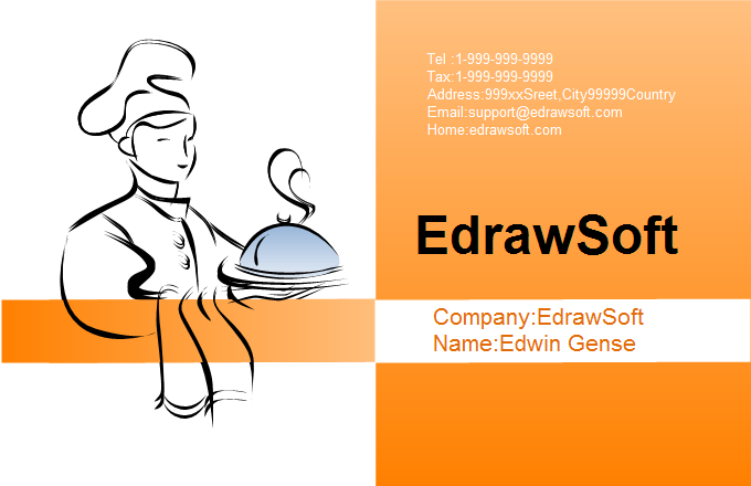 Service Business Card 3