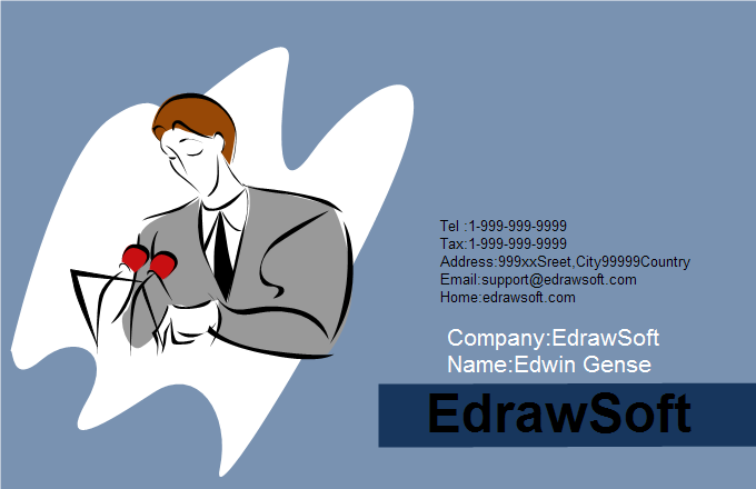 Service Business Card 4