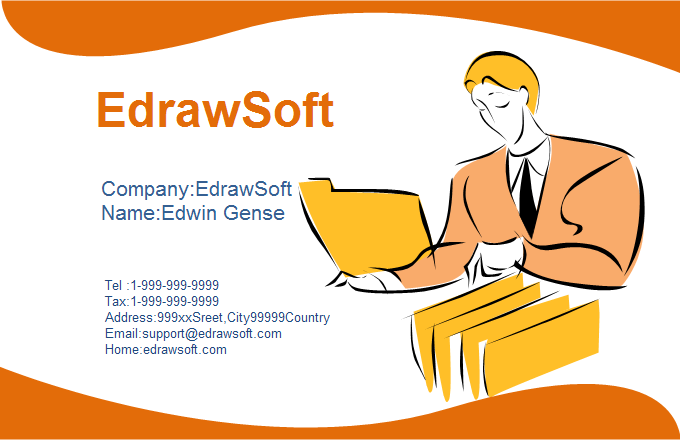 Service Business Card 5