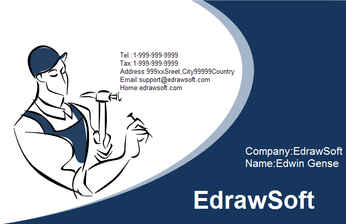 Service Business Card 6