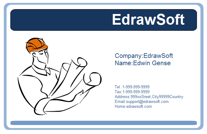 Service Business Card 7
