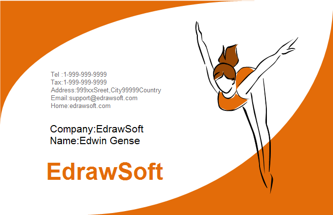 Sport Business Card 1