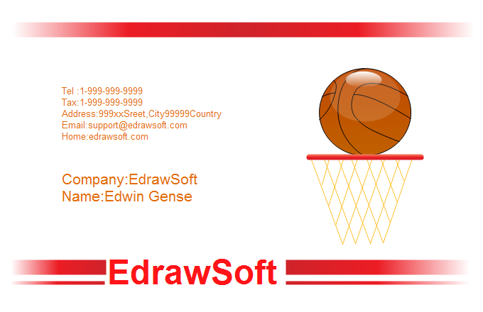 Sport Business Card 10