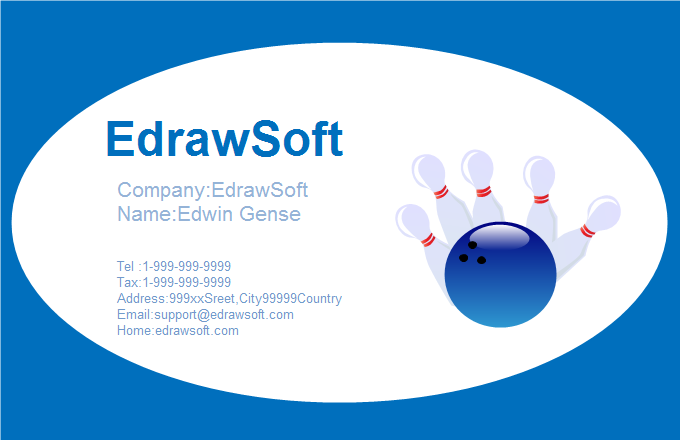 Sport Business Card 5