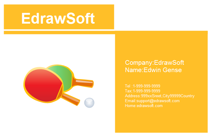 Sport Business Card 7